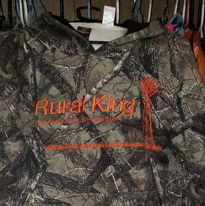 Rural King Camo hoodie